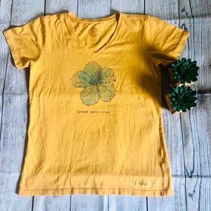 ✨Life is good crusher T shirt